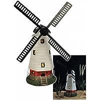 Solarleuchte Windmühle Gartenbeleuchtung Mühle Gartendekoration,16423
