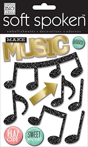 Unbekannt Me and My Big Ideas Macht Musik Weich gesprochen 3D Aufkleber -
