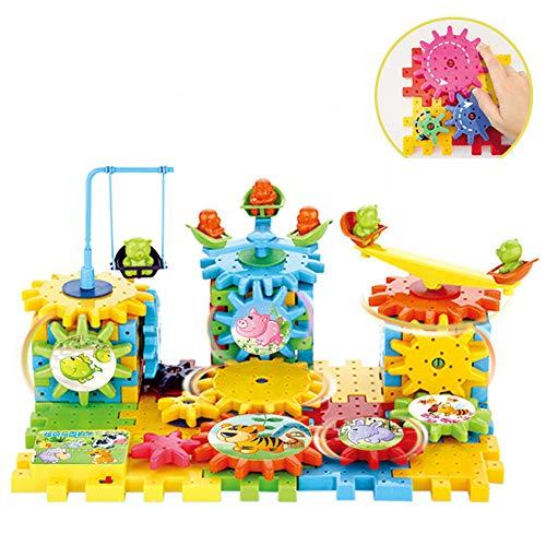 LXWM DIY Elektrische Bausteine Spielzeug Puzzle Paradise Kreative Bausteine Rechtschreibung Block Kinder Geschenke,C