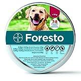 Foresto Flea y cuello de garrapata para perros grandes de más de 8 kg, protección