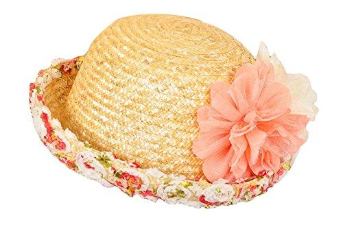 Für Schwarz Sommer Frauen Hüte (JUNGEN Eimer Hut Strohhut Wide Brim Sommer Schutz Cap mit Bowknot Dekoration)