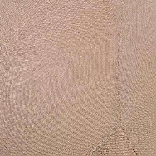 Umstandsmode von Herzmutter - Umstandsslip-Schwangerschaftsslip-Überbauchslip für Damen, im Einzelpack-Doppel-Dreierpack-Set, aus Baumwolle-Modal, in Schwarz und Beige (5100) 2x Schwarz/1x Beige
