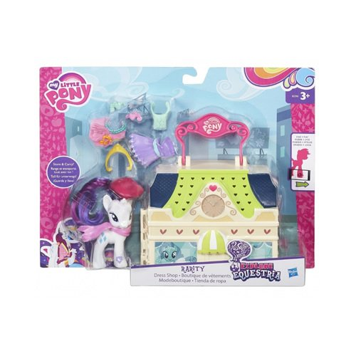 51cy54BrCoL My Little Pony 13946 Explore Equestria Manehattan Assortment Playset UK best buy Review
