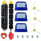 Kit Cepillos Repuestos de Accesorios para Aspiradoras iRobot Roomba Serie 600 605 610 615 616 620...