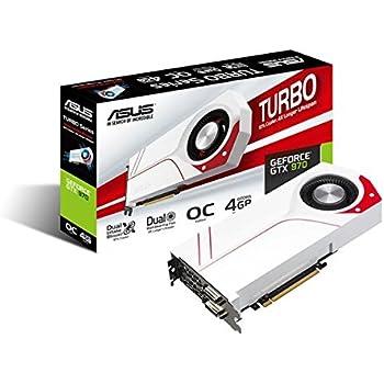 Asus GeForce GTX 970 Turbo-GTX970-OC-4GD5 Scheda Video da 4 GB, Bianco/Rosso