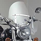 Vramack Seven Brand - Parabrisas Universal Custom Transparente Grande 56X48Cm