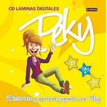 Peky CD Láminas Digitales 3, 4 y 5 años: Diviértete y aprende jugando con Peky - 9788444173788
