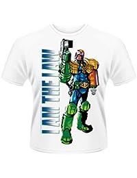 Plastic Head Judge Dredd I Am The Law 2 Men's T-Shirt