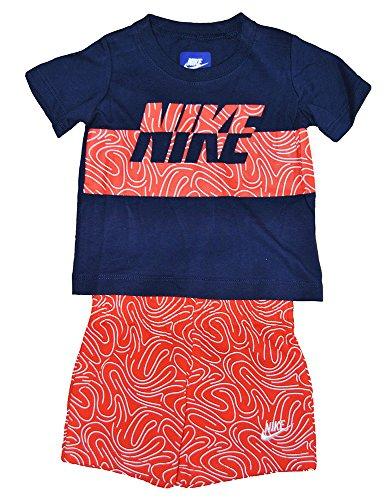 Nike Kinder Anzug Kleidung Set, Größe Kleidung Kinder:4 (96-104 cm)