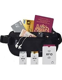 TravelBug Money Belt Black - Estuche para corbatas  Negro negro