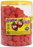 Fini - Fresas con nata - Espuma dulce - 200 unidades