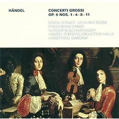 Concerto Grosso in G major, Op. 6, No. 1, HWV 319: IV. Allegro