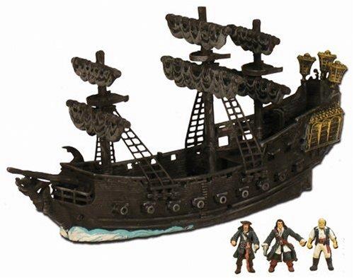 Fluch der Karibik 2 70400601 - Micro Flottschiff Edinburgh mit Micro Figuren Will Turner, Elizabeth Swann und Captain ()