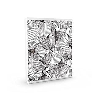 Alubox My Board with 16Hooks for Keys, Steel, White/Multicolour, 5X 24.5X 31.5cm