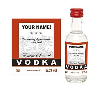 Amelia - 5cl Miniature Bottle of Vodka in Gift Box