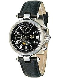 Constantin Durmont Damen-Armbanduhr XS Mirage Analog Automatik Leder CD-MIRL-AT-LT-STST-BK