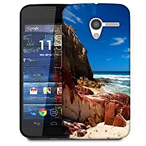 Snoogg Hot Sunny Beach Designer Protective Phone Back Case Cover for Moto X/Motorola X