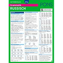 PONS Grammatik auf einen Blick Russisch (PONS Auf einen Blick)