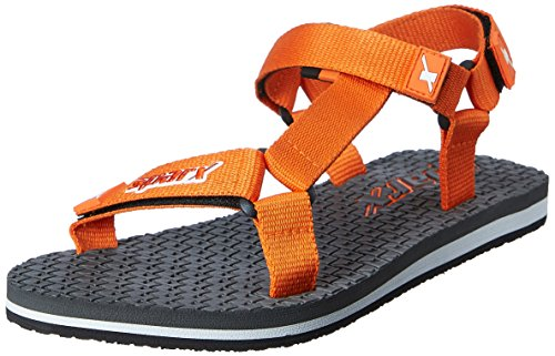 Sparx Women's Grey and Orange Athletic and Outdoor Sandals - 7 UK/India (40 EU)(SS-444)  available at amazon for Rs.416