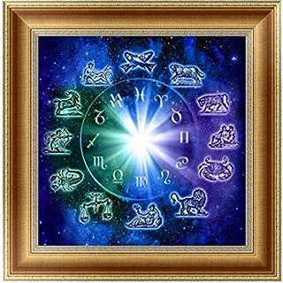 TINGSU 5D DIY Diamond Painting Embroidery Cross Craft Stitch Home Decor Art - Half Drill (B:14X14inch / 35X35CM)