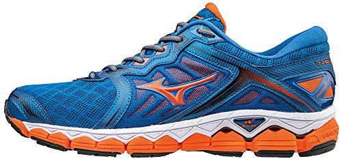 Mizuno Wave Sky, Chaussures de Running Homme Bleu clair