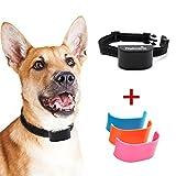 Nakosite BARK2433 Antibell Halsband Hund für Mini kleine und Grosse Hunde mit Batterie Bark Control Collar, stoppt das Bellen von Hunden