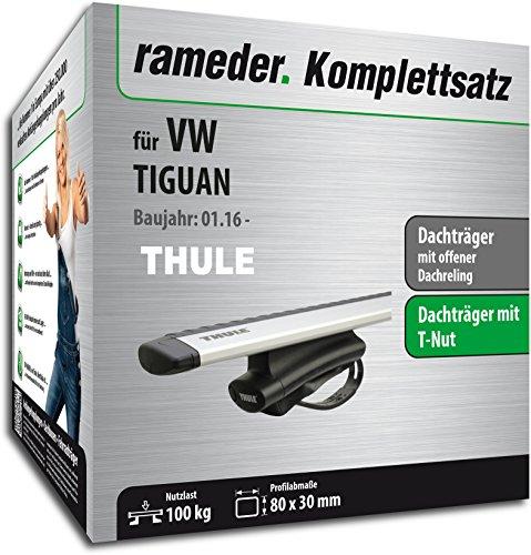 Rameder Komplettsatz, Dachträger WingBar für VW TIGUAN (114428-36223-27)