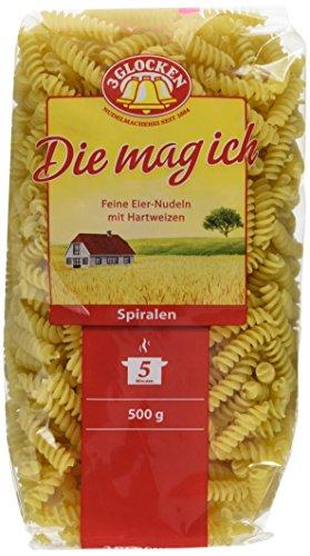 3 GLOCKENDie mag ich Spiralen, 15er Pack (15 x 500 g) (Soba-nudel-rezepte)