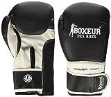Boxeur Des Rues Serie Fight Activewear, Guanti da Fit-Boxing Unisex-Adulto, Nero, S/M