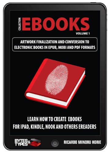 eBooks Collection - Artwork finalization and conversion to electronic books in ePub, Mobi and PDF (English Edition) por Ricardo Minoru Horie