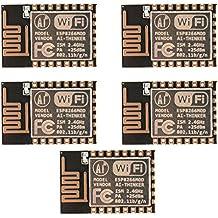 XCSOURCE® 5stk ESP8266 Serial ESP-12E WIFI Modul Kabellos Netzwerk Fernbedienung Transceiver Board für Arduino TE710