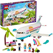 LEGO Friends Heartlake City Airplane 41429 building set with 4 mini-dolls and holiday accessories, Toy for Kid