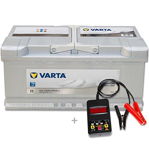 Varta Silver Dynamic I1–12V/110Ah–920a/EN Incluye batterietester