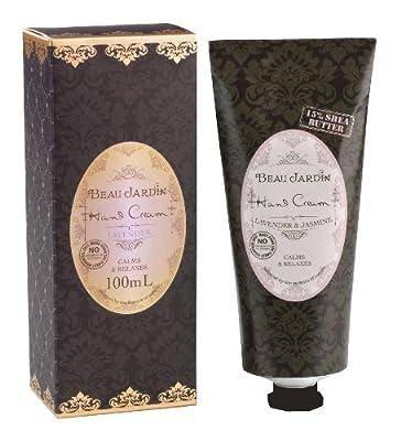 Beau Jardin Lavender & Jasmine 15 Percent Shea Butter Hand Cream 100ml