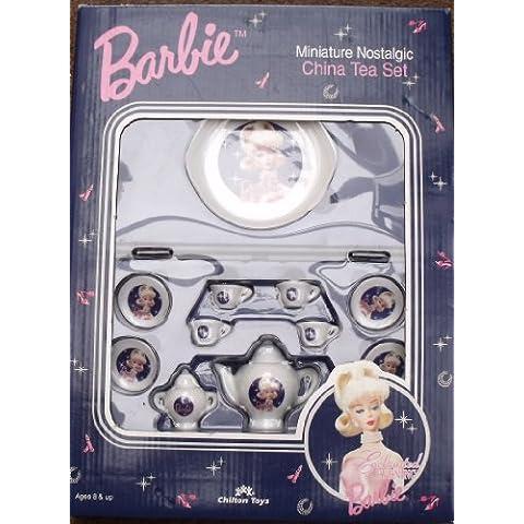 Barbie - Enchanted Evening - Miniature Nostalgic China Tea Set