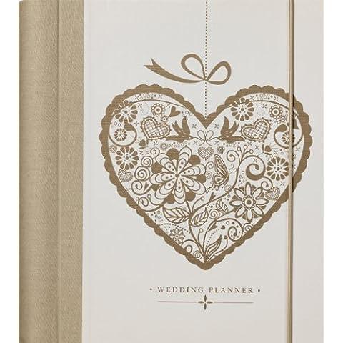 K Two 1640 - Planeador de bodas de lujo, diseño de corazón