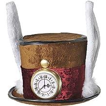 Sombrero de Sombrerero Loco de Lujo marrón Adulto