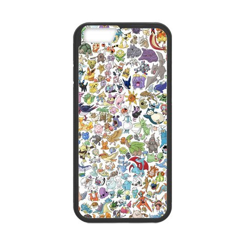 iPhone 6/iPhone 6S Case Coque, Screen Protector pour iphone6s, Pokemon Pikachu Designs iPhone 6(4,7pouces) Case, iPhone 6/iPhone 6S Coque de protection Case