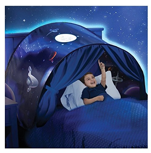 Kangrunmy Tente De Lit Enfant Garcon Fille Princesse Enfants Tente Tunne Lit RêVe Jouer Pop Up Ciels Lit Tent Playhouse Tent Enfant Interieur Pour GarçOn Fille Cadeaux Tent