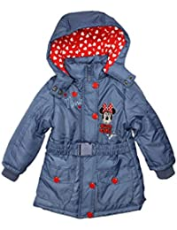 Minnie Mouse Official Girls Winter Parka Jacket  Age 3/8 Years