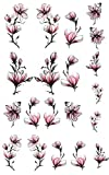 Kirschblüten Art Nail Tattoo Nagelsticker - 00690