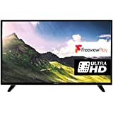 Finlux 49UTD297B-P 49in 4K Ultra HD LED Smart TV with Freeview - Black