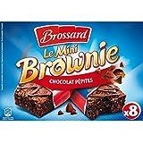 Brossard Mini Brownies Aux Pépites De Chocolat, Sachets Fraîcheur - ( Prix Par Unité ) - Envoi Rapide Et Soignée