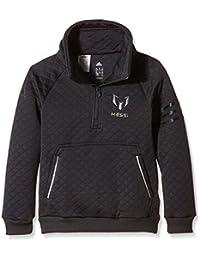 adidas YB M Q Sweat - Pantalón para niño, color gris, talla 176
