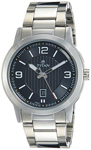 Titan Neo Analog Black Dial Men's Watch-NK1730SM02