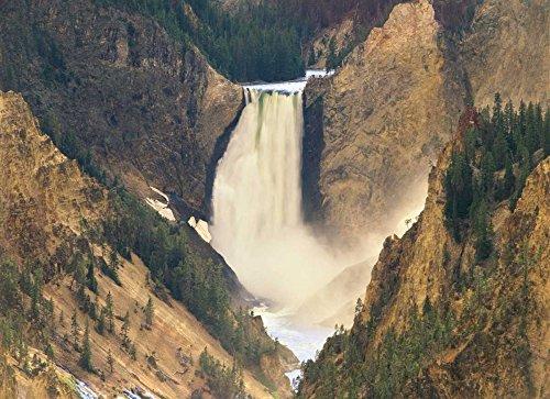 The Poster Corp Tim Fitzharris - Lower Yellowstone Falls and Grand Canyon of Yellowstone National Park Wyoming Kunstdruck (22,86 x 30,48 cm) -