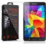 Cadorabo Verre Trempé pour Samsung Galaxy Tab 4 (7 Zoll) en Haute Transparent - Film...