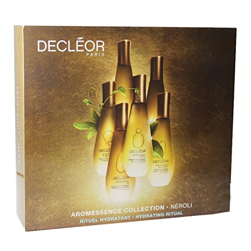 Decleor – AROMESSENCE Collection Neroli Serum 15 ml + Hydra Floral Soin Visage Creme hyratant 24h 15 ml + Huile Micellaire 5 ml Femme
