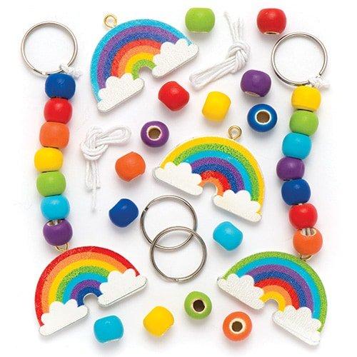 Baker Ross Schlüsselanhänger- und Taschenschmuck-Bastelsets