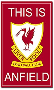 This is Anfield Liverpool FC.- PHOTO FRIDGE MAGNET from Ace Geordie Collectables